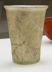 IMG_6403 (jaglazier) Tags: 2016 2ndcentury 2ndcenturyad clear cologne colonia coloniaclaudiaaraagrippinensium copyright2016jamesaglazier crafts cups geometricdesigns germany glass imperial koln kln museums roman romangermanicmuseum rmischgermanischesmuseum september archaeology art engraved incised