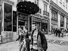 Paris Em Lisboa (kitchou1 Thanx 4 UR Visits Coms+Faves.) Tags: art architecture autumn bw cityscape europe exterior landscape nb people season street world saison