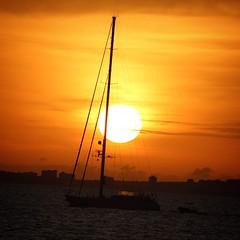 Sunset in Mallorca (cocozool2005) Tags: majorque balearic island espaa espagne bateau boat coucherdesoleil sunset balares mallorca