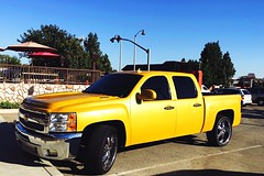 Saw this #Truck at my work the other day. #MetallicPaint #Yellow #AWSOME #Beautiful #IWish #2016 #SouthernCalifornia #LosAngeles #PhotographerHales (haleymarshall169) Tags: truck metallicpaint yellow awsome beautiful iwish 2016 southerncalifornia losangeles photographerhales