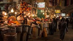 Bazar (transmundi) Tags: asia atmospheric bags bazaar business city commerce culture dark destination dream editorial esfahan inside interior iran iranian isfahan landmark light magic magical man mood people selling signs spice tehran traditional travel woman