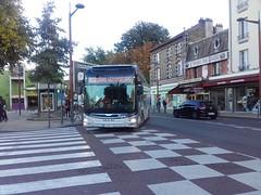 Transdev TRA Man Lion's City hybride DV-660-YL (93) n47039 (couvrat.sylvain) Tags: transdev tra hybride man lions city aulnay sous bois villepinte bus autobus rapide automobile transport