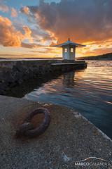 Vanishing thoughts (Marco Calandra Photography) Tags: brottkrr cabin china sea sunset sverige sweden gothenburg goteborg gteborg zen free spirit calm temple