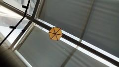geometric.  @k bahesi, nero (bluestroad) Tags: diagonal abstract geometric symmetric indoor nero hektagon hexagon
