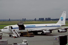 9XR-JA ~ 1984-00-00 @ DUS (CVT-wings) Tags: 9xrja planespotting nondigitalscans aircraftpix generalaviation aircraftpictures airplanephotos airplane airplanepictures cvtwings aviation davelenton boeing707 airrwanda