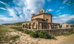 Santa Maria de Eunate (PedroSolitario) Tags: knights templar templarios iglesia church spain navarra temple romanesque romanico caballeros mistery misterios