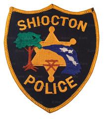 Shiocton Police (Patch Collector) Tags: wi wisconsin police patch sheriff black creek prescott waupaca west bend shiocton trenton dresser