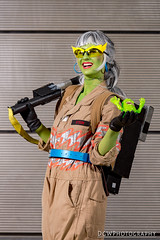 Frankie Stein Ghostbuster Mashup (dgwphotography) Tags: cosplay nycc nycc2016 newyorkcomiccon nikond600 nikoncls ghostbusters monsterhigh frankiestein 70200mmf28gvrii