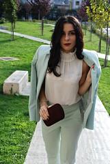 Menta + borgogna (Dadie Bradshaw ~) Tags: menta borgogna burdundy fashion blog blogger