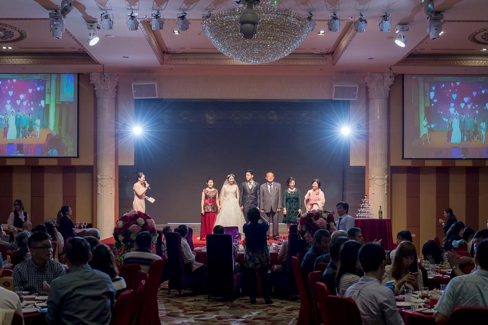 台南婚攝 婚禮紀錄 情定婚宴城堡 C & M 134