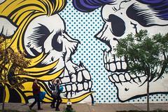 Zombies Lichtenstein (Stefano Auzzi) Tags: newyork nyc manhattan urban canon stauzz 2016 art architecture photography nofilter brooklyn murales graffity bushwick colourfull lichtenstein skulls face