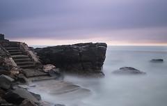 Rock & Steps (Ancon0031) Tags: mooloolaba sunrise steps mooloolabebeach beach sunshinecoast australia longexposure rock