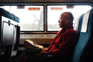 Monk on the Train