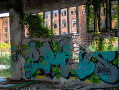 DSC_0473 (Under Color) Tags: leipzig graffiti lost places urban exploring leipsch walls