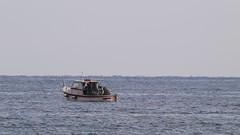 vita di bordo per la pesca, al largo e al calare del sole (Carla@) Tags: liguria italia europa mfcc canon