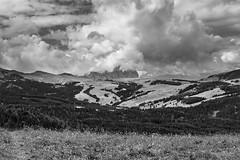 64 (Alessandro Gaziano) Tags: alessandrogaziano foto fotografia dolomiti unesco montagna panorama landscape italia italy valgardena altoadige alpi natura cielo nuvole biancoenero biancopinero blackandwhite blackwhite