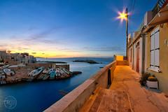 Malmousque (Fujjii photographie) Tags: marseille malmousque borddemer mer heurebleue crépuscule promenade méditerranée provence poselongue longueexposure fujjii amazing soir d7000 nikon 1024 oloneo cnx2 beautiful