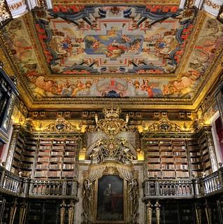 Biblioteca Joanina - Les Arts au Portugal