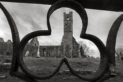 The Holy Trinity, Mungret, Limerick (Sean Hartwell Photography) Tags: mungret church countylimerick limerick rural three rusty railings religion religious derelict ruins ireland