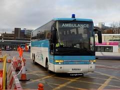 Across Ambulance - JP02 OLL at Buchanan Bus Stn (Duffy 3) Tags: across ambulance jp02oll