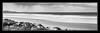 Sandy Point , Victoria , Australia (tsmpaul) Tags: blackandwhite greyscale grayscale panorama canon eos600d rebelt3i kissx5 sandypoint leongatha victoria australia breathtakinglandscapes monochrome photoborder outdoor shore coast landscape cloud seaside sea sky water ocean