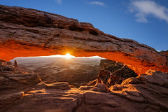 Sunrise - Mesa Arch (Pillars of Creation Photography) Tags: canyonlands national park utah moab mesa arch desert