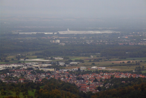 View from Hohenbaden Castle Ruins, 16.09.2011.