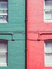 018_2016 - Symmetry facade (FabianYou) Tags: color aberystwyth facade symmetry travel