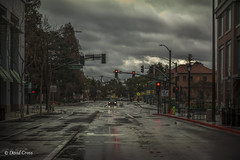 Rainy Morning (buffdawgus) Tags: california canon5dmarkiii canonef24105mmf4lisusm lightroom5 middlefieldroad middlefieldandjefferson redwoodcity sanmateocounty streetscene topazsw urbanamerica urbanlandscape rainyday rainclouds clouds