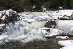 Icy Cascades (Jeff Mitton) Tags: boulder colorado bouldercreek ice cascade winter earthnaturelife wondersofnature