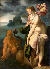 Glaucus and Scylla (lluisribesmateu1969) Tags: 16thcentury mythology onview spranger kunsthistorischesmuseumwien vienna