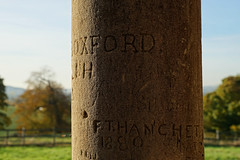 Old Graffiti on a column at the ruins of Houghton House (Jayembee69) Tags: houghtonhouse england englishheritage unitedkingdom uk statelyhome ruin bedfordshire beds ampthill graffiti pillar stone