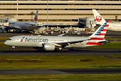 N806AA Boeing 787-8 AAL  HND (Jetstar31) Tags: n806aa boeing 7878 aal hnd