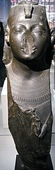 """""""Statue of a King with khat headdress and jubilee cloack"""" (1479-1458 BC) - Egyptian Collection - Naples, Archaeological Museum (Carlo Raso) Tags: egypt naples italy archaeologicalmuseum"""