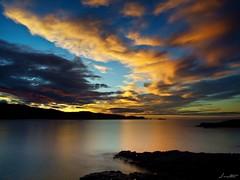 Atardecer en Verdicio (Jaime Martin Fotografia) Tags: asturias nature sea sunset atardecer color clouds