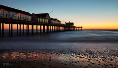 Southwold Pier Pre-Dawn (Dave Massey Photography) Tags: southwold pier coast dawn sunrise beach suffolk