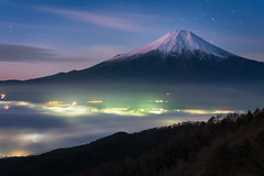 Mount Fuji at Dawn (Yuga Kurita) Tags: fuji mount mt fujisan fujiyama japan landscape nature dawn