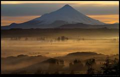Amanecer en el volcán Osorno