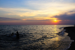 Gizzeria Lido (hdoe84) Tags: sunset italy beach calabria lamezia