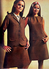 Pennys 67 ss brown (jsbuttons) Tags: clothing mod buttons womens 1967 catalog 67 sixties jcpenny vintagefashion