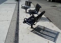 Happy Bench Monday (peggyhr) Tags: sunlight canada vancouver shadows bc hbm thegalaxy peggyhr level1photographyforrecreation thegalaxyhalloffame thelooklevel1red thelooklevel2yellow level2photographyforrecreationsilveraward dsc09159a