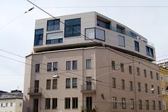 dachausbau salzburg (mcorreiacampos) Tags: salzburg architecture austria sterreich architektur contemporaryarchitecture dachausbau archidose zeitgenssischearchitektur archdaily