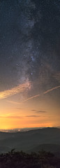 Galactic Center At Blood Mountain (Anish Patel Photo) Tags: panorama mountains georgia stars pano astro galaxy astrophotography blueridgemountains appalachiantrail milkyway chattahoochee bloodmountain
