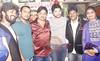 Rajkumar Pandey  Damodar Raao Anara Gupta Sanjay Bhushan Rao Birthday Celebration 2015 Music Director Birthday Party Damodar Rao  97