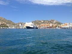 Cabo San Lucas (marrrííí) Tags: ocean travel vacation tourism beach dock cabo ships baja cabosanlucas medano