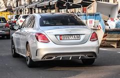 Kyrgyzstan (Bishkek) - Mercedes-Benz C200 W205 (PrincepsLS) Tags: b germany mercedes benz plate license kyrgyz dsseldorf kyrgyzstan spotting bishkek c200 w205