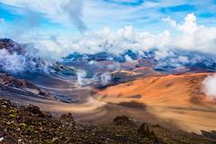 Haleakala Volcano, Maui - 12 (www.bazpics.com) Tags: park mountain rock landscape volcano hawaii lava us amazing scenery rocks unitedstates cone extreme maui national haleakala valley ash hi volcanic devastation cinder dormant cindercone kula devastated