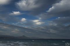 Nubes (Sento MM) Tags: playa paisaje viento alicante sanjuan nubes levante
