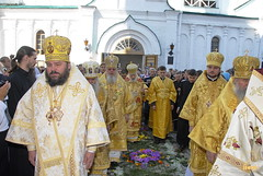 21. Glorification of the Synaxis of the Holy Fathers Who Shone in the Holy Mountains at Donets. July 12, 2008 / Прославление Святогорских подвижников. 12 июля 2008 г