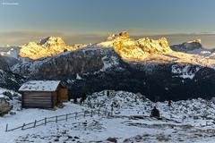 Tramonto dalla forcella Sief (sml_sc) Tags: sunset tramonto dolomites bivacco andraz settsass coldilana forcellasief cimasief